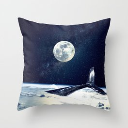 Stay in Space Throw Pillow