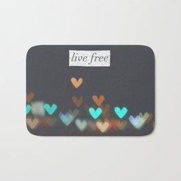 Live Free  Bath Mat