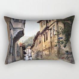 Exploring The History Rectangular Pillow