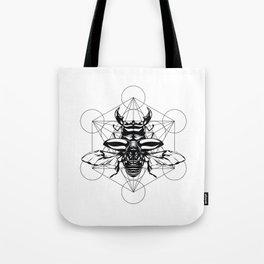 Sacred Scarab Tote Bag