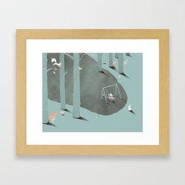 Het Prullalamonster print #2 Framed Art Print