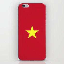 Vietnam flag emblem iPhone Skin