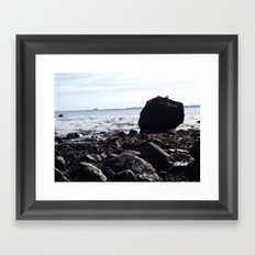 Boulder Beach Framed Art Print