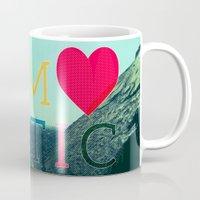 romantic Mugs featuring ROMANTIC by famenxt