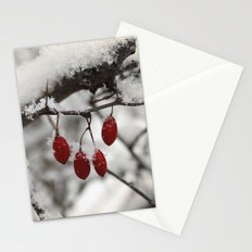 Finding Red Stationery Cards