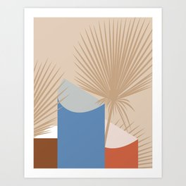 Tropical Breeze 02 Art Print