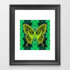 Henna Butterfly No. 4 Framed Art Print