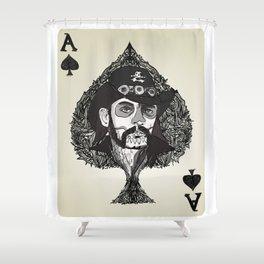 Lemmy Ace of Spades Shower Curtain