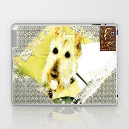 Wheaten Scottish Terrier - During Sickness and Health Laptop & iPad Skin