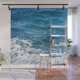 Ocean Wave Heading Toward Shore Wall Mural