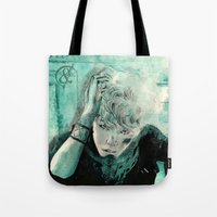 kpop Tote Bags featuring B.A.P's ZELO by Worldandco