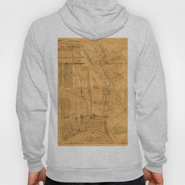 Map of New Orleans 1891 Hoody