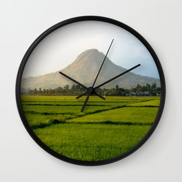 Mt. Malasimbo Wall Clock