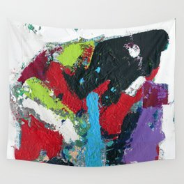 Tic Modern Painting Wall Tapestry