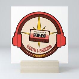 Earth 1-999999 Nova Radio Mini Art Print