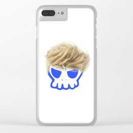 Willy the Wig Clear iPhone Case