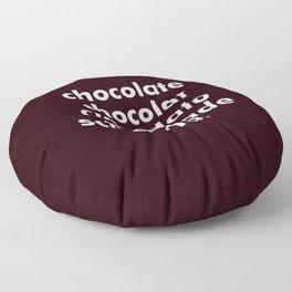 CHOCOLATE Floor Pillow