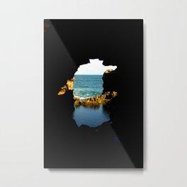 The Grotto Metal Print