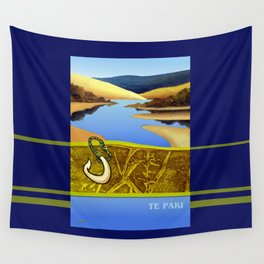 Water Meets Sand: Te Paki Stream Wall Tapestry