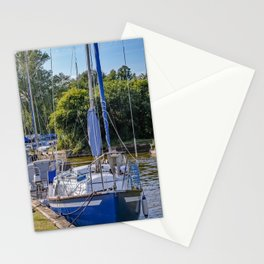 Boats on the Norfolk Broads  Stationery Cards