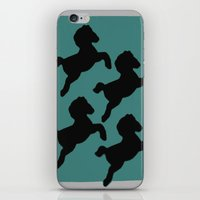 pony iPhone & iPod Skins featuring pony by gasponce