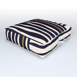 Zebra style animal print pattern Outdoor Floor Cushion