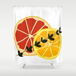 Summer Cocktail Shower Curtain
