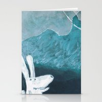 baloon Stationery Cards featuring moon baloon by stefania coniglio