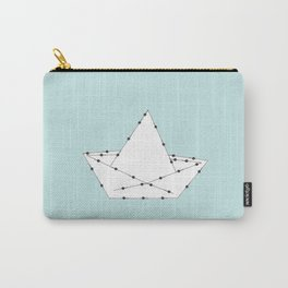 Origami Boat Carry-All Pouch