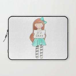 It's Okay Laptop Sleeve
