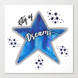 City of Dreams Canvas Print