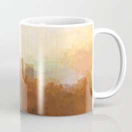 Louisville, Kentucky Skyline - In the Clouds Coffee Mug