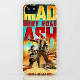 Mad Ash Gory Road iPhone Case