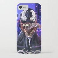 venom iPhone & iPod Cases featuring VENOM by corverez
