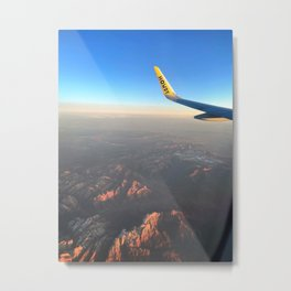 Afternoon views from 3500 ft Metal Print