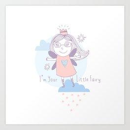 Cute Little Fairy Art Print