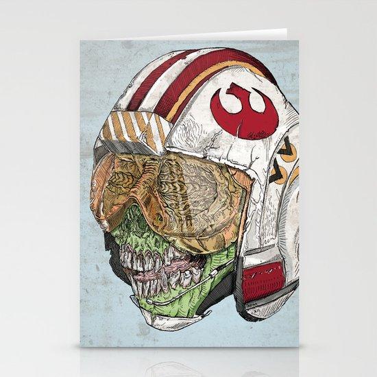 Zombie Alliance Stationery Cards