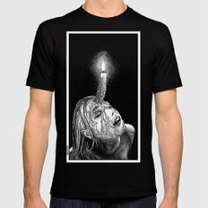 asc 649 - La corne aphrodisiaque (The wax horn) Black 2X-LARGE Mens Fitted Tee
