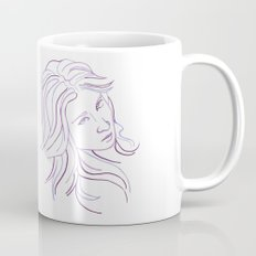 Purple Portrait Mug