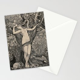 Eve And The Serpent Stationery Cards