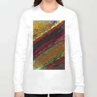 bands Long Sleeve T-shirts featuring Class Seven Atmospheric Bands by Theoretical Art