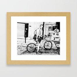 Tim Framed Art Print