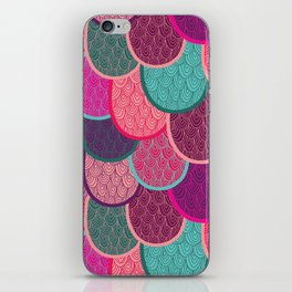 Fish Scales and Mermaid Tales iPhone Skin