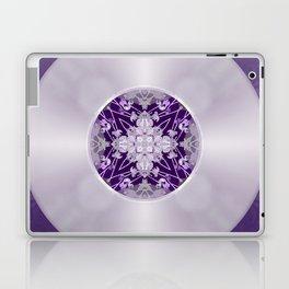 Vinyl Record Illusion in Purple Laptop & iPad Skin