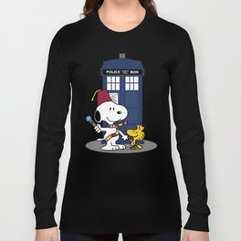 Snoopy Who Long Sleeve T-shirt