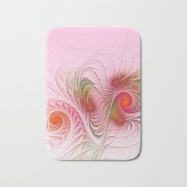 a dream in pink and red Bath Mat