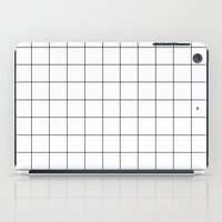 grid iPad Cases featuring grid by 550am