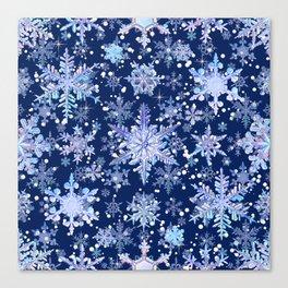 Snowflakes #3 Canvas Print