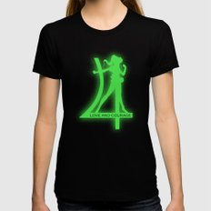 Sailor Jupiter Womens Fitted Tee SMALL Black