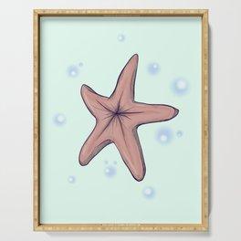 Chocolate Starfish Serving Tray